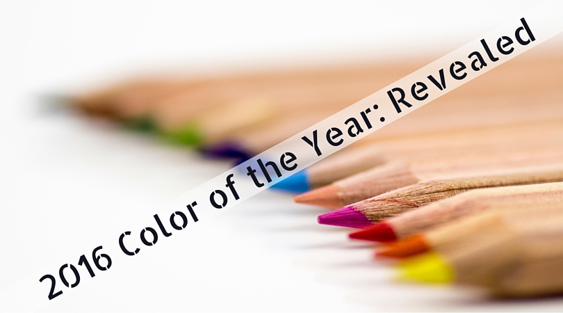 2016 color of the year revealed